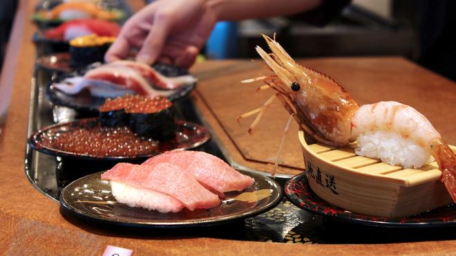 とっぴー(小樽運河通店)回転寿司