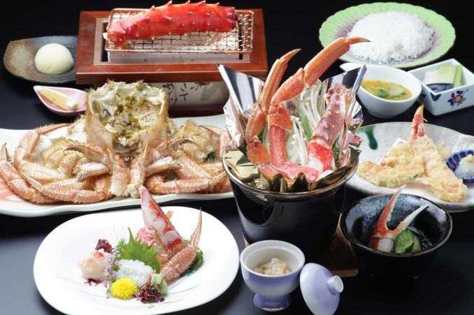 札幌で蟹なら氷雪の門