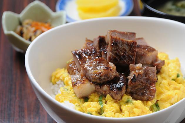 十勝清水牛玉ステーキ丼(清水町)