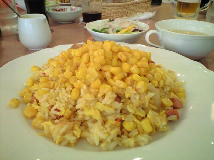 十勝芽室コーン炒飯(芽室町)