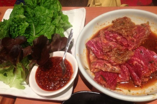 トトリの焼肉