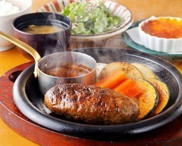 炭火ハンバーグ大かまど 芝(札幌市)