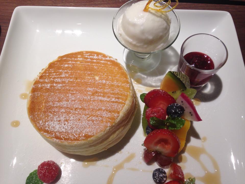北海道旅行 パンケーキ