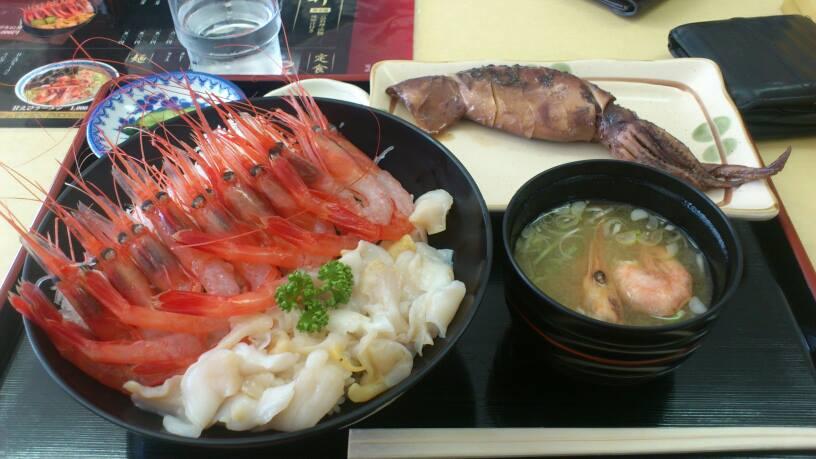 北海道海鮮丼 甘海老