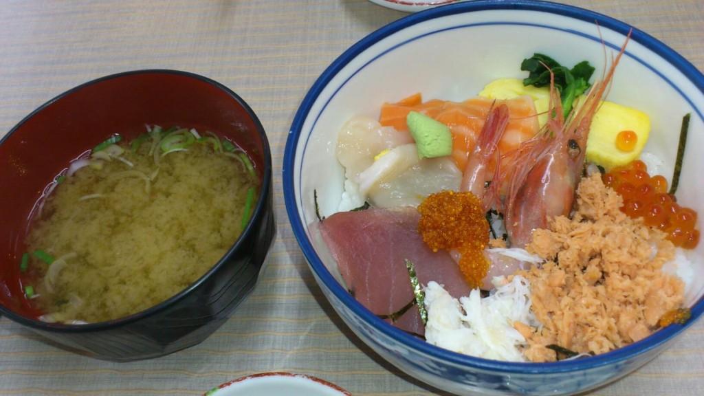 函館 海鮮丼 五目丼