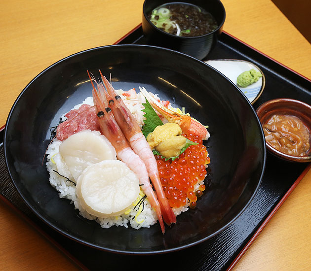函館 海鮮丼 大名盛