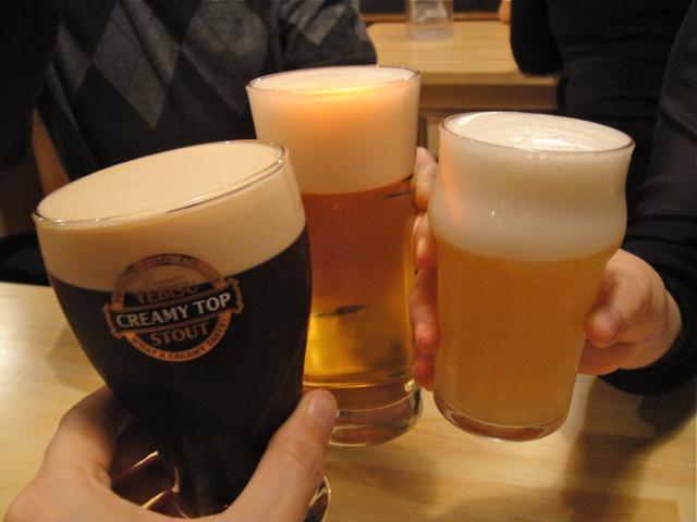 米風亭 ビール