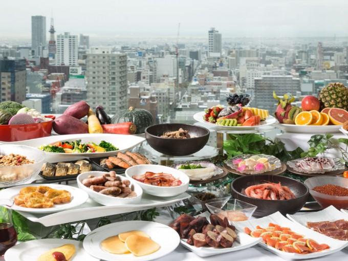 札幌プリンスホテル 朝食ビュッフェ