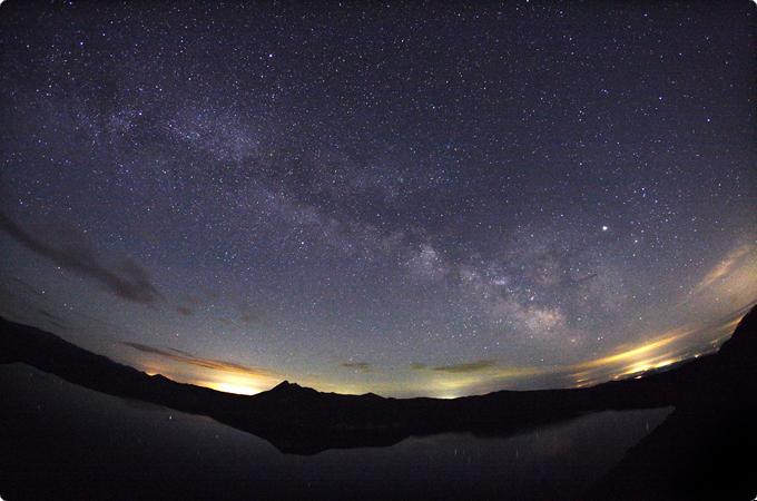 北海道 星空 摩周湖