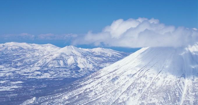 ニセコ冬山
