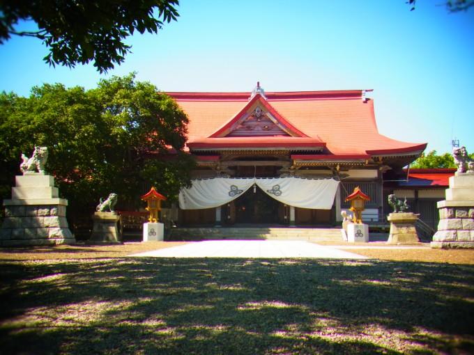 厳島神社 北海道