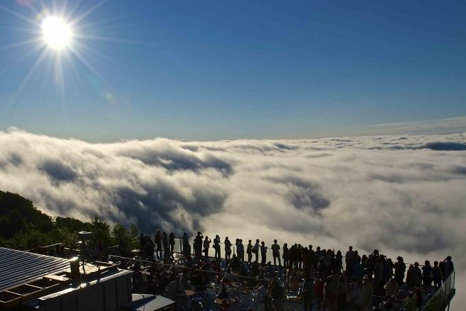 トマム 雲海テラス
