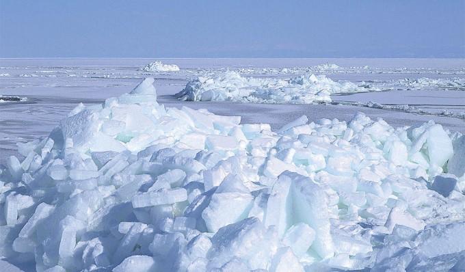 網走 流氷