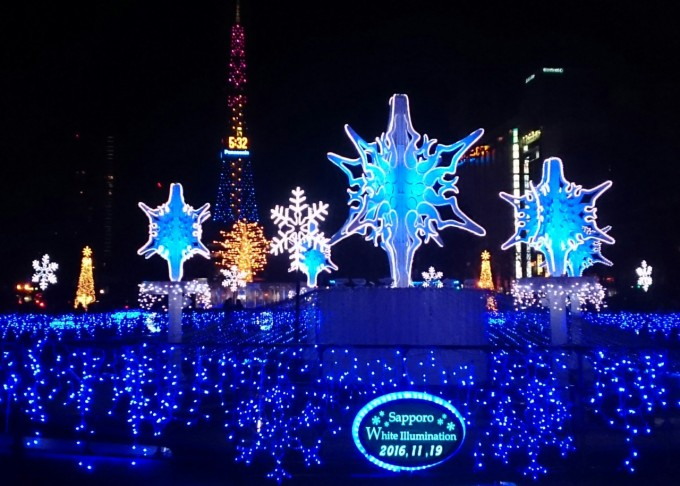 札幌ホワイトイルミネーション