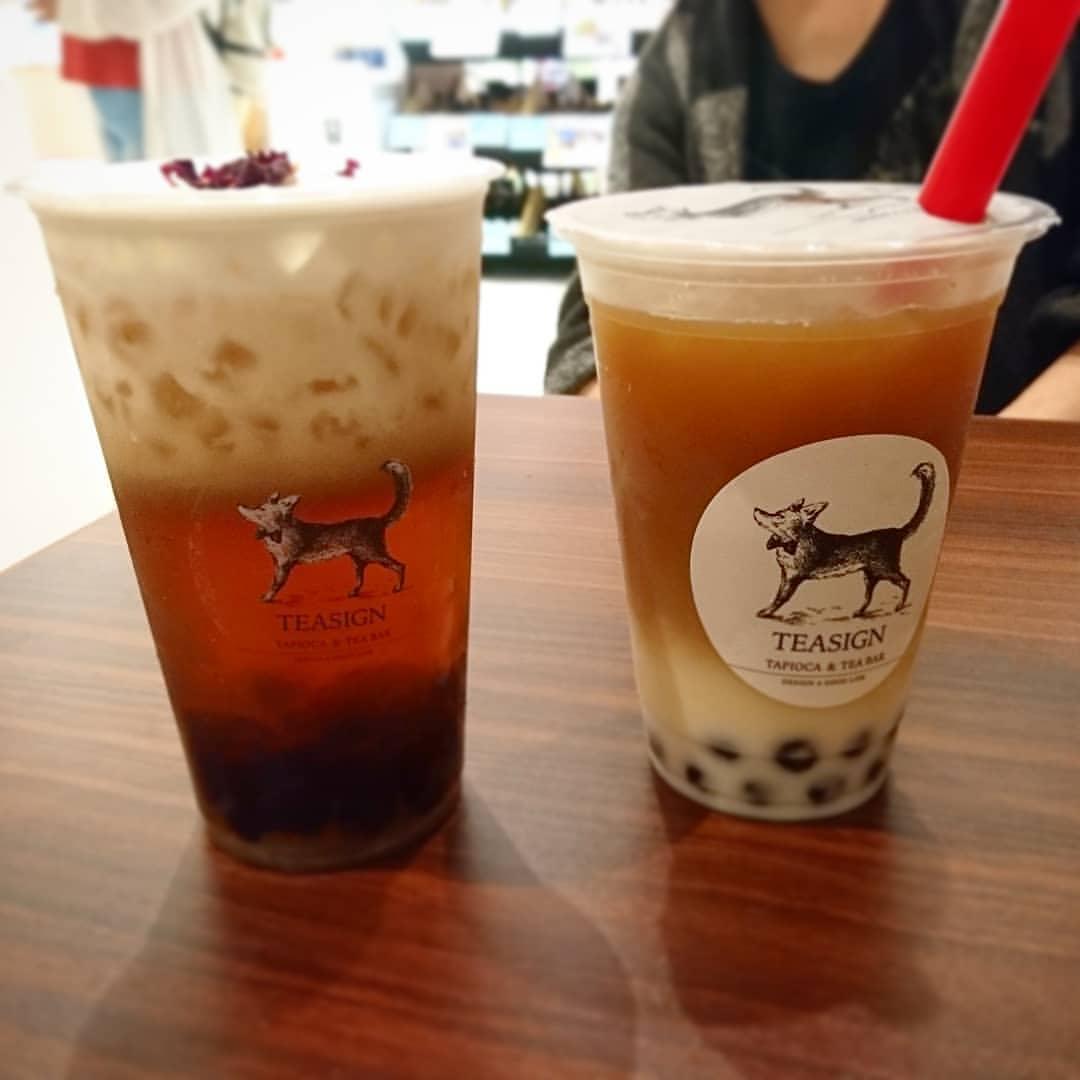 札幌 たぴおか TEASIGN Tapioca & Tea Bar