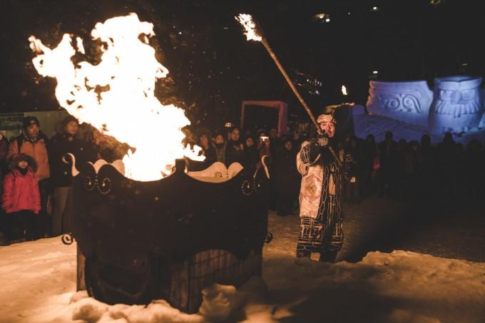 阿寒湖氷上フェスティバル2