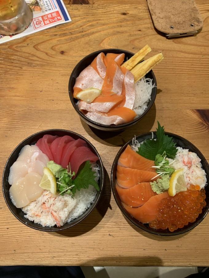 札幌 朝食 どんぶり茶屋二条市場