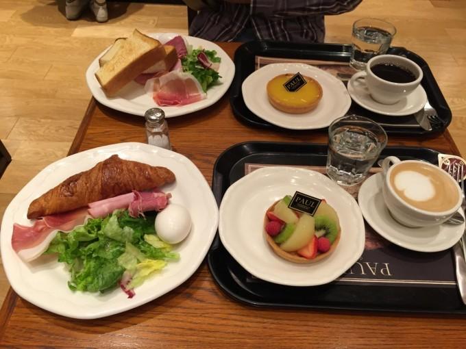 札幌 朝食 PAUL 札幌ステラプレイス店