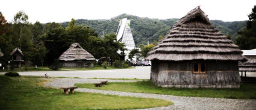 二風谷アイヌ文化博物館 チセ