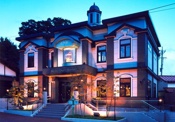 諏訪湖オルゴール博物館奏鳴館 長野県 観光名所