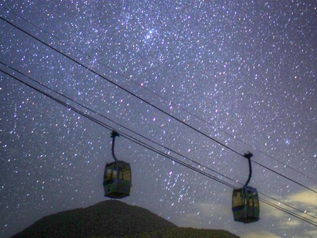 日本一星空の観測に適した場所 阿智村 星空