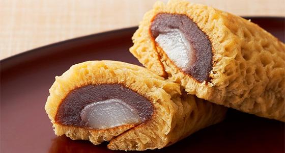 黒糖ふくさ餅(村上)