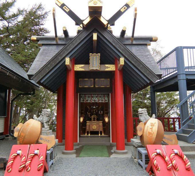 冨士山小御嶽神社への参拝を忘れずに