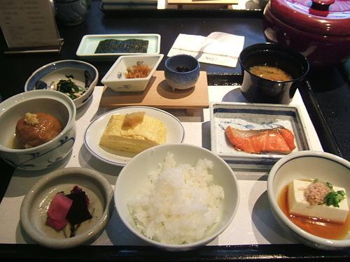 京都 朝食 ホテルグランヴィア京都/日本料理 浮橋