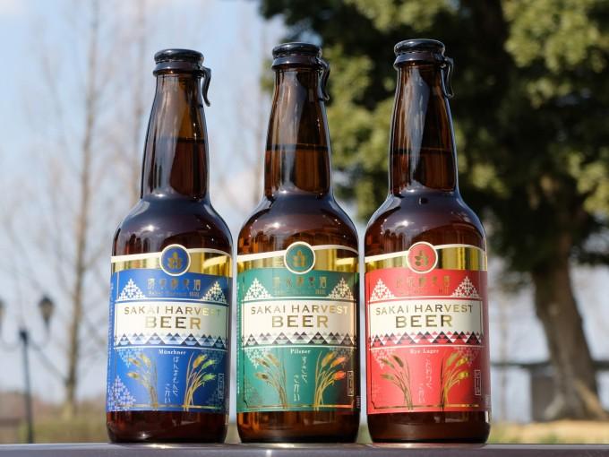 堺収穫麦酒 地ビール