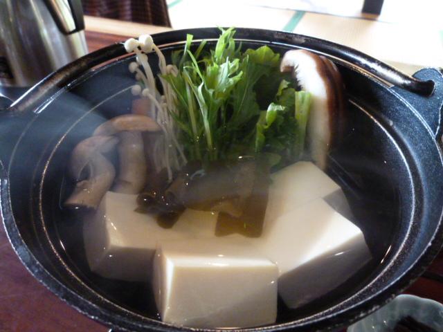 美山粋仙庵 SAI 湯豆腐