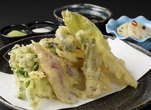 野菜天ぷら 八百起