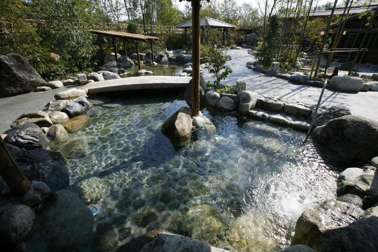 延羽の湯 風呂