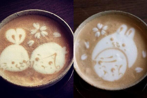うさぎとぼくコーヒー
