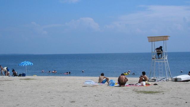 琵琶湖 湖水浴