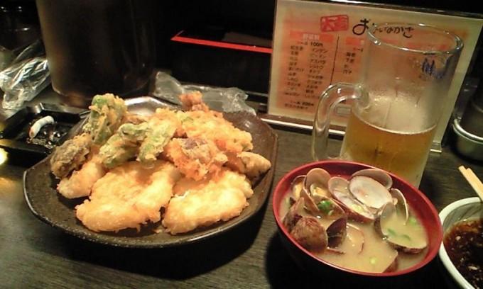 「大吉」天ぷら屋