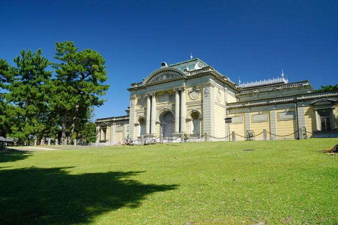 公園の中に博物館がある