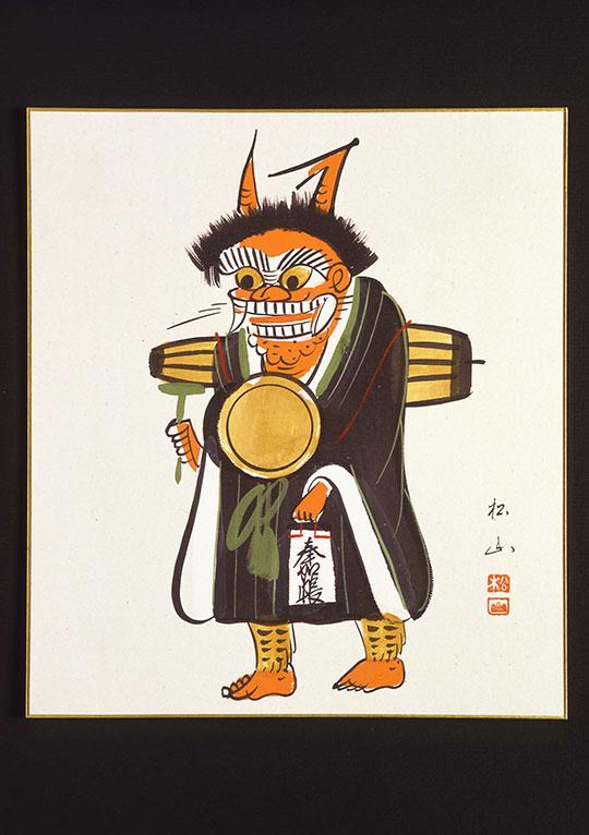 近江の伝統的工芸品「大津絵」