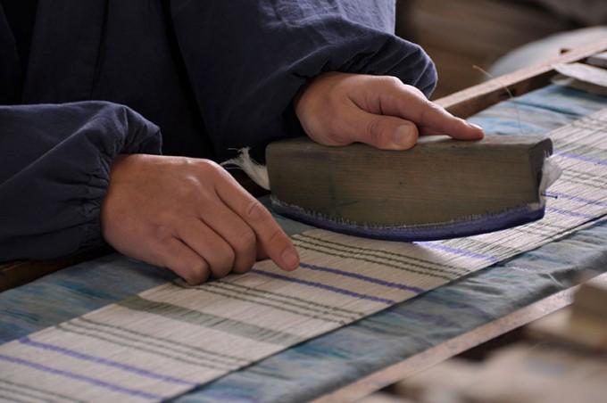 近江の伝統的工芸品「近江上布」