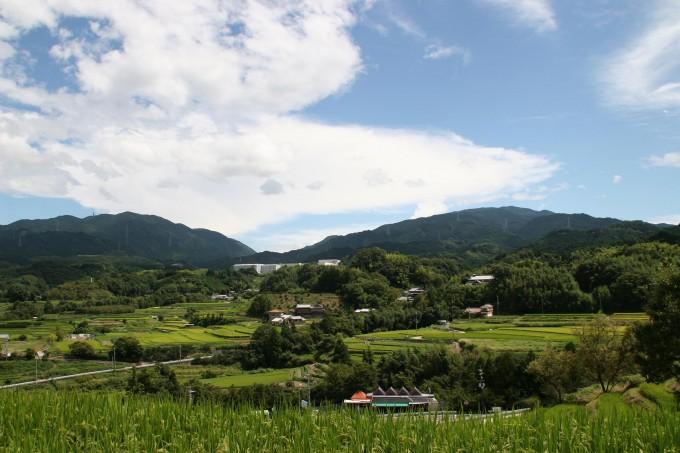 豊かな自然千早赤阪村