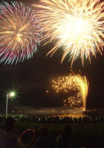 滋賀県のイベント「彦根・北びわ湖大花火大会」
