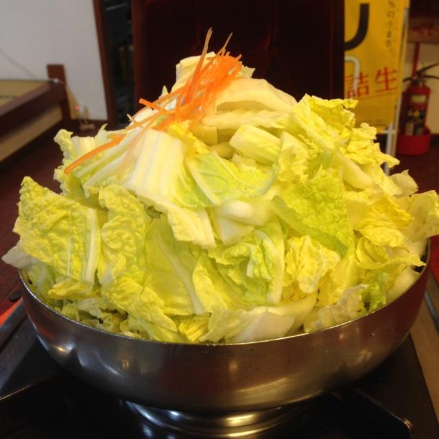 滋賀県のB級グルメ「とり野菜みそ鍋」
