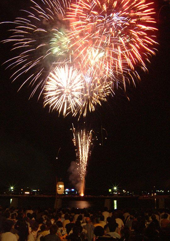 滋賀県のイベント「長浜・北びわ湖大花火大会」