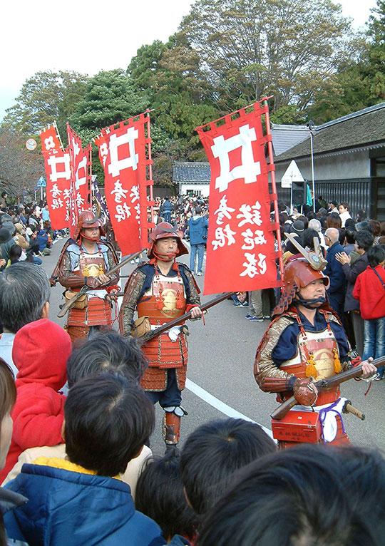 滋賀県のイベント「小江戸彦根の城まつりパレード」
