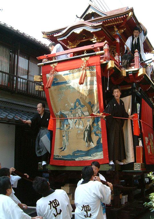 滋賀県のイベント「米原曳山まつり」