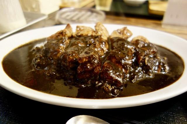 滋賀県のB級グルメ「名物の肉カレー」