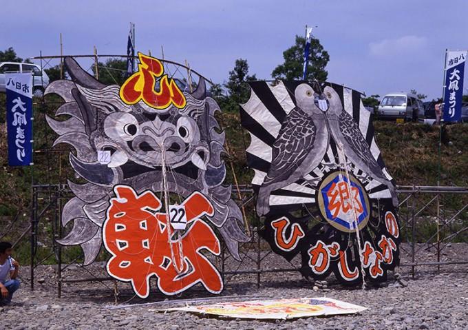 滋賀県のイベント「東近江大凧まつり」
