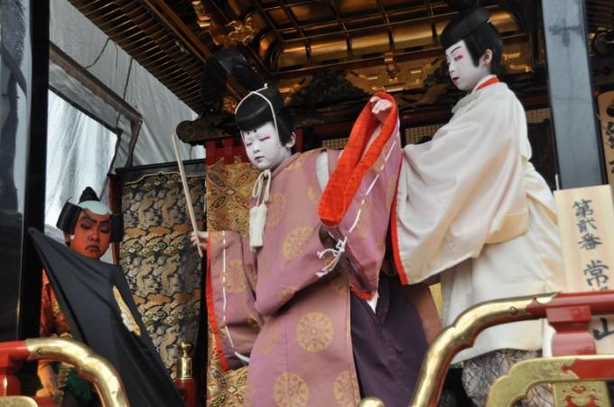 滋賀県のイベント「長浜曳山まつり」