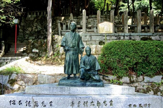 霊山(りょうぜん)~坂本龍馬墓所