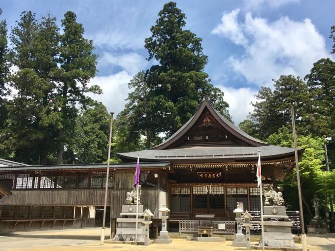 田村神社 滋賀  パワースポット