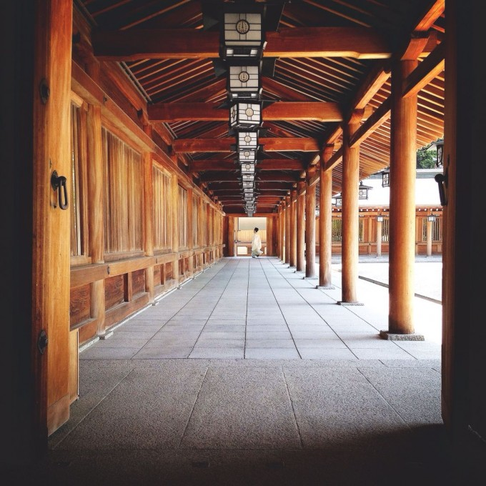 橿原神宮 回廊